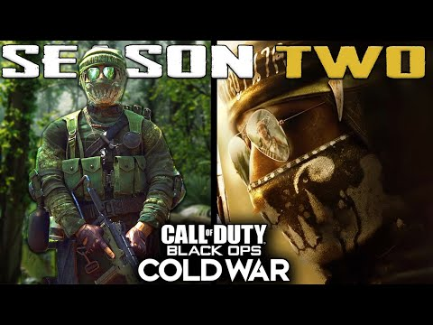 Black Ops Cold War: Season 2 Revealed! (New Operators, Weapons, Scorestreaks & Story)
