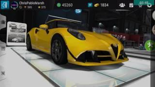 Gear Club: Alfa Romeo 4C (A3 Class) Customization!!!