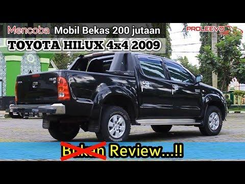 Mobil Bekas Toyota Hilux 4x4 2009