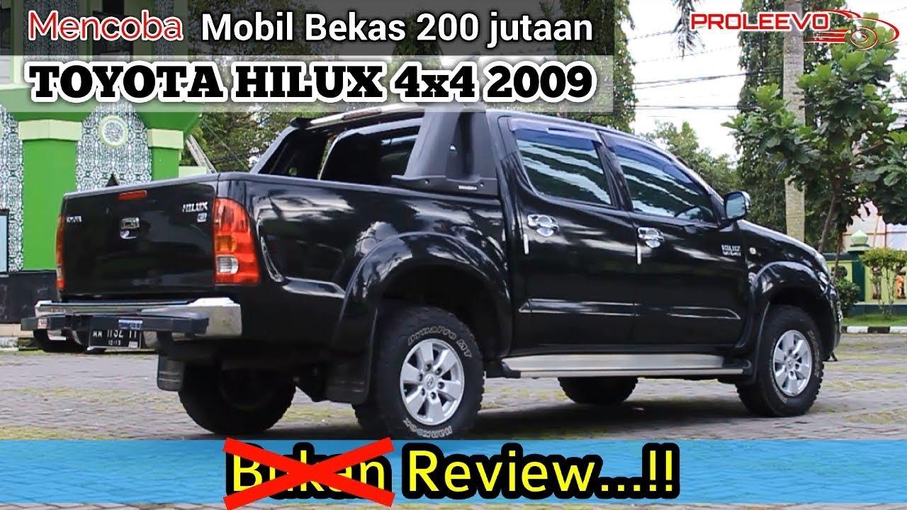 mobil bekas toyota hilux 4x4 2009 - youtube