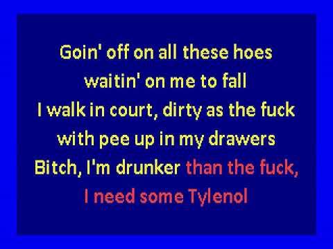 NBA Youngboy  -  House Arrest Tingz (karaoke)