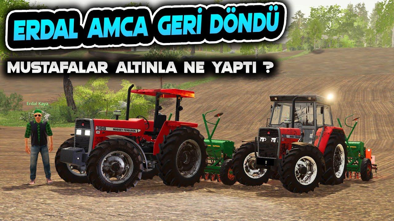ERDAL AMCA GERİ DÖNDÜ ! // ÇİFTLİKTE GARİP OLAYLAR OLMAKTA // FARMING SIMULATOR 2019
