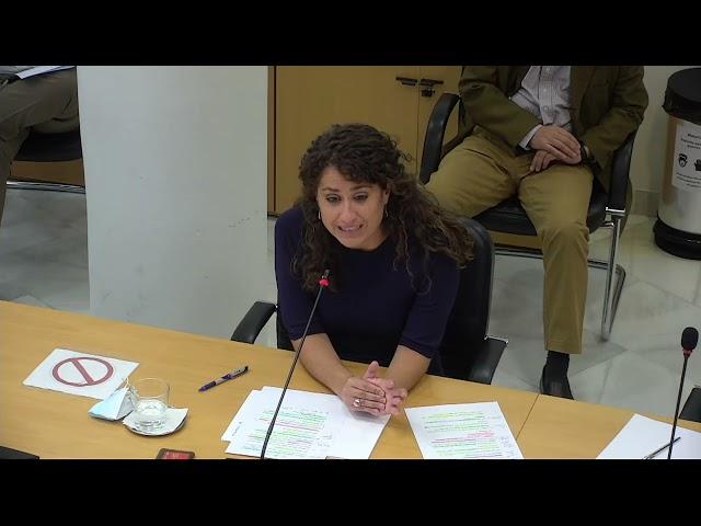 Enma López critica que el Gobierno del PP y C´s haya sacado las subvenciones en agosto