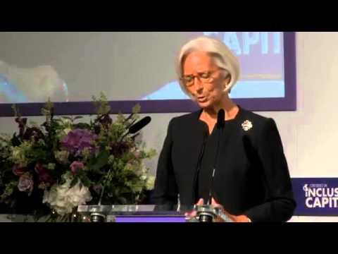 Christine Lagarde,IMF managing director is critical of capitalism