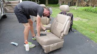 Cleaning The Dirtiest Car Interior Ever! Complete Disaster Full Interior Car Detailing Toyota Sienna