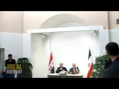 Iran opposes Iraq/US security pact