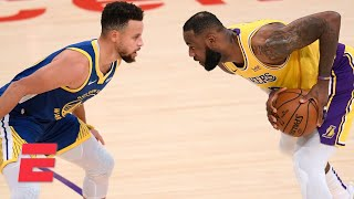 Stephen Curry and the Warriors rally in the 4th quarter to defeat the Lakers | NBA on ESPN