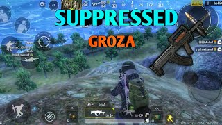 KING OF THE HILL | GROZA | PUBG MOBILE .