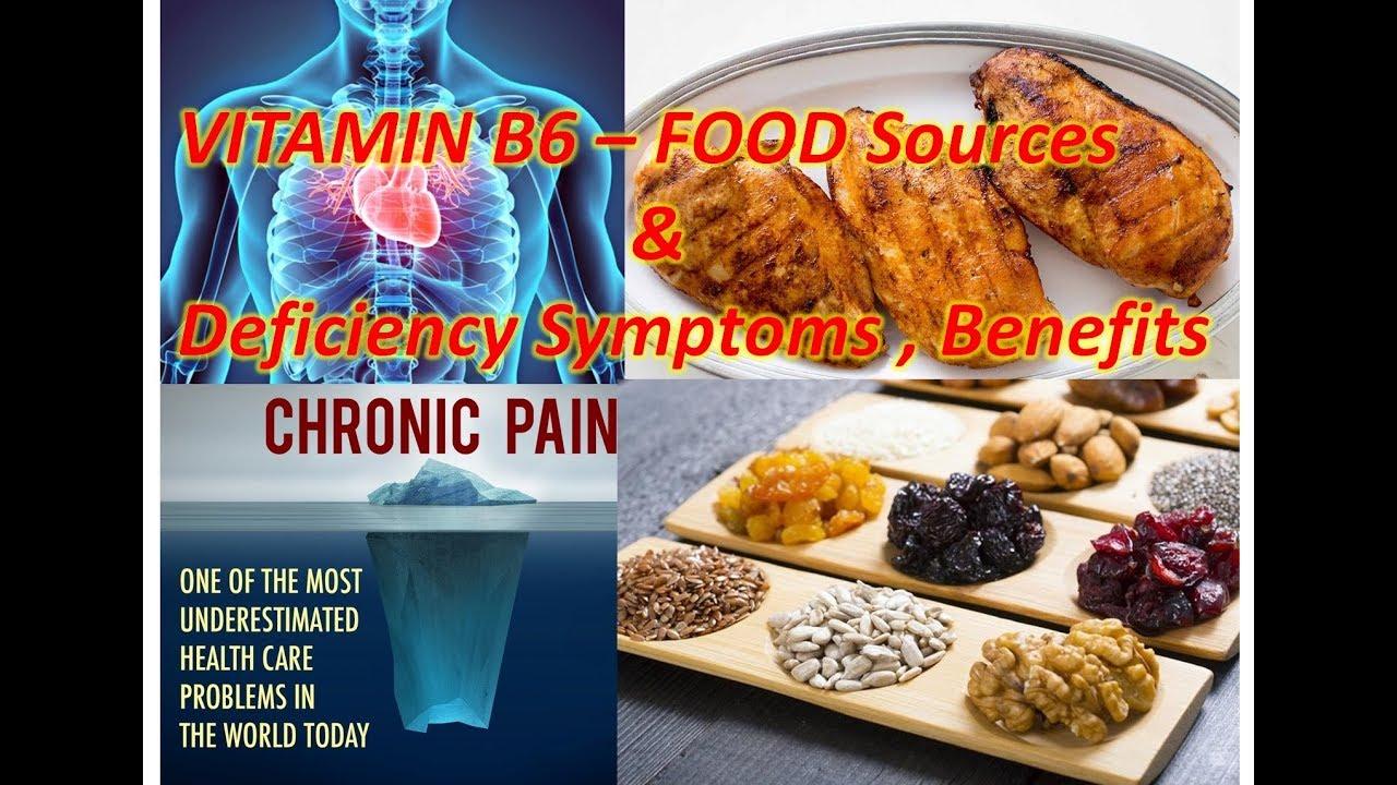 0001 Vitamin B6 Rich Foods & Deficiency Symptoms | vitamin b6 | vitamin b6  foods |