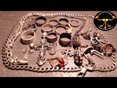 Подводный поиск. Золото #7 и серебро Underwater metal detecting. Gold & silver