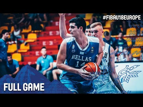 Slovenia v Greece - Full Game - FIBA U18 European Championship 2017