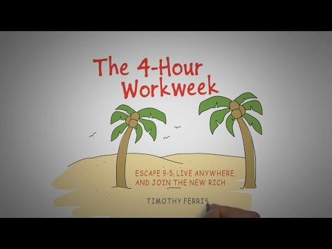 THE 4-HOUR WORKWEEK: ESCAPE 9-5, LIVE ANYWHERE, AND JOIN THE NEW RICH | Video Audiobook Summary