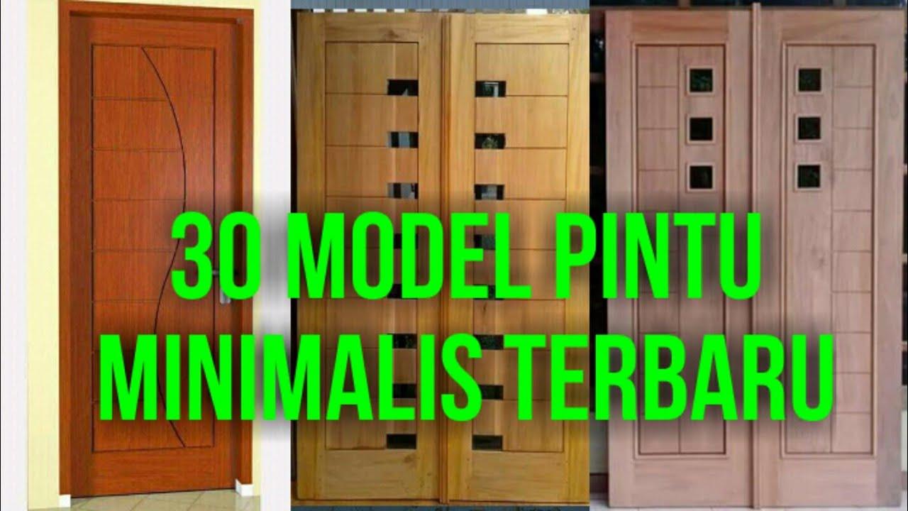 30 Model Pintu Minimalis Terbaru Duniatukangkayu Dunia Tukang Kayu Youtube