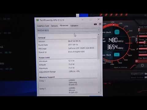 GTX 1050 Ti GPU-Z Hynix RAM Mining Hasrate WORSE HYNIX 🔥🔥🔥