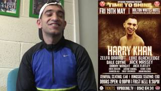 VIPtv talks to Haroon Khan who returns to ring after nearly 3 years out.