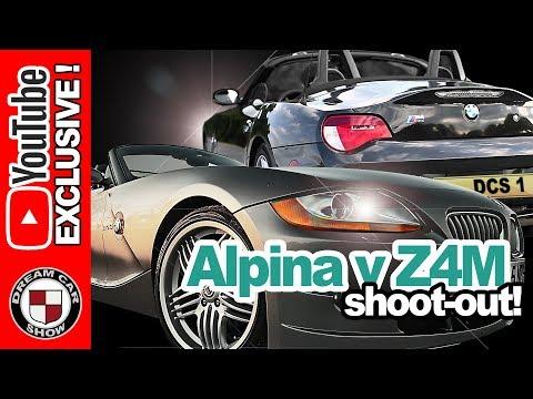 Alpina Roadster S Vs BMW Z4M Roadster