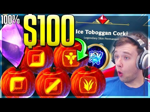 $100 NEW SPOOKY ORBS 100% GEMSTOME? Spooky Halloween Orbs Opening - League of Legends