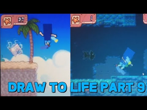Let's Play Draw To Life Part 9: Surfs Up! |
