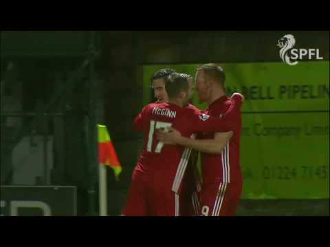 McLean closes down goalkeeper to score for Aberdeen
