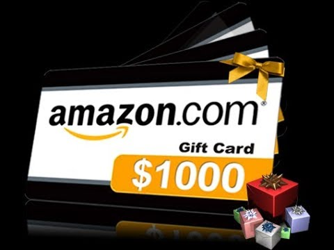 WATCH THIS VIDEO TO GET 1000$ AMAZON GIFT CARD *WATCH TILL END!