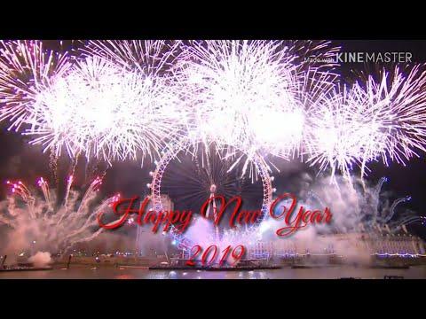 Happy new year 2019 whatsapp status video hd