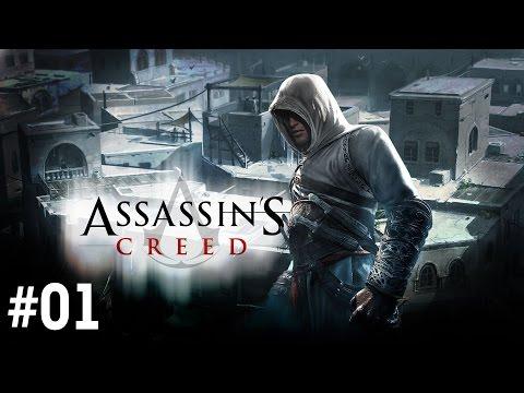 Прохождение Assassin's Creed (2008) - Часть 1 (На русском / Без комментариев)