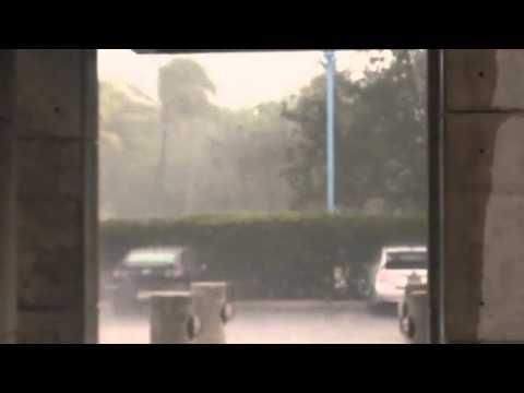 Torrential Rain At NWS Miami June 8, 2014