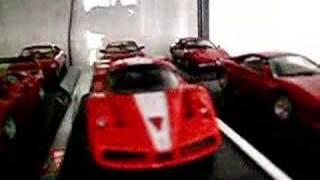Passione Rossa, Vetrina Ferrari 1/43