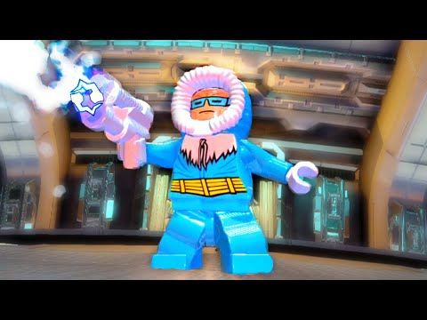 Lego Batman 3 Beyond Gotham How To Unlock Captain Cold Showcasing His Ameplay Abilities Youtube