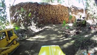 King Hauler dump truck hauling gravel