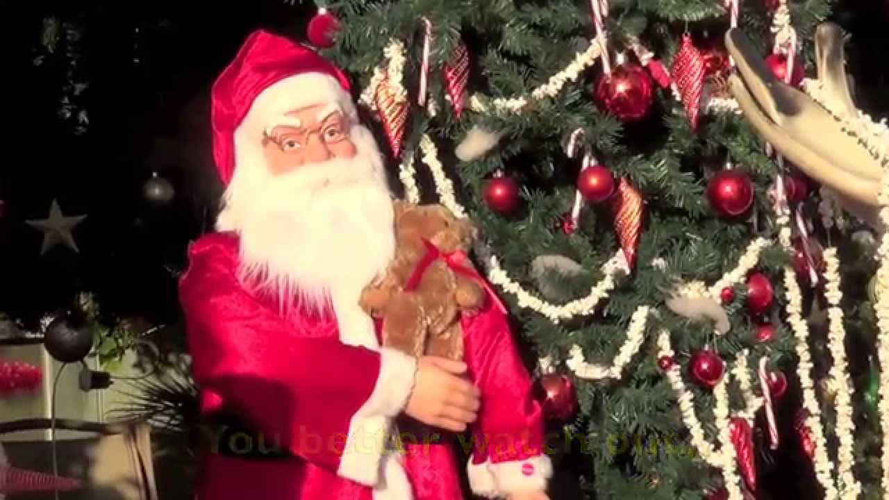 SANTA CLAUS IS COMIN TO TOWN (Lyrics) - Christmas Song for KIDS - YouTube