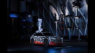 Audi e-tron prototype in faraday cage