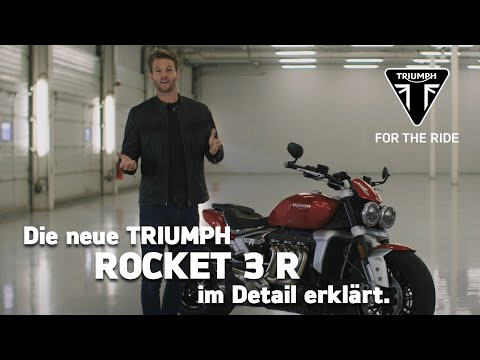 Die neue Triumph Rocket 3 R - im Detail erklärt