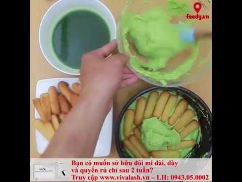 Tiramisu trà xanh - Matcha Tiramisu