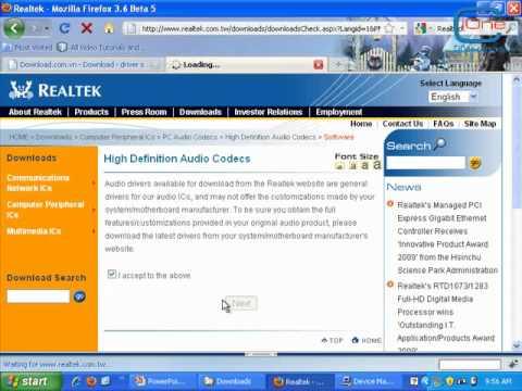 Hướng dẫn tìm Driver cho máy tính - CiOne.flv