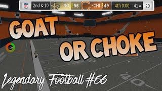 GOAT OR CHOKE? [Legendary Football Funny Moments #56]