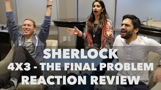 Repeat youtube video Sherlock - 4x3 The Final Problem - Reaction Review!