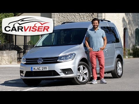 VW Caddy 2015 Test Sr Review English subtitled