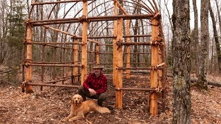 building-a-native-american-longhouse-with-hand-tools-the-best-natural-bushcraft-shelter