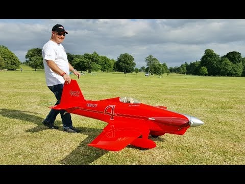 """LeVier """"COSMIC WIND"""" DUO RC RACING MONOPLANES AT WESTON PARK INTERNATIONAL - 2017"""