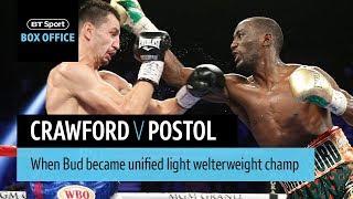 Terence Crawford v Viktor Postol official highlights