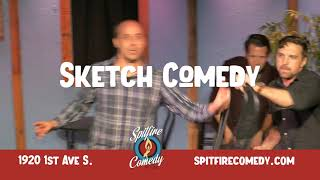 Spitfire Comedy House Commercial