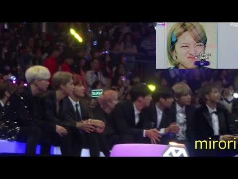 171201 BTS (방탄소년단) reaction to Best Music Video Award (Nominees + VCR) @ MAMA 2017