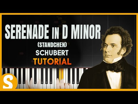 """How to play """"Serenade in D Minor- Standchen"""" by Schubert 