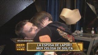 Celos y escándalo entre Soledad Silveyra y la mujer de Osvaldo Laport
