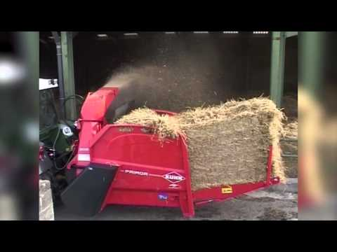 KUHN PRIMOR 2060 M - Straw Blowers & Feeders (In action)