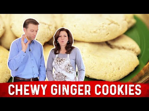 Chewy Ginger Cookies: Low Carb & Keto Friendly - YouTube