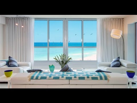 Spacious Beachfront Residence with Amazing Amenities in Miami Beach, Florida