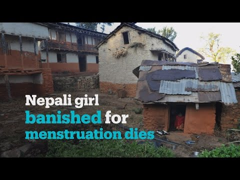 """Untouchable beings"": Nepali girl banished for menstruation dies"