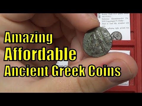 Affordable Ancient GREEK COINS from 400BC-100AD Collection Guide on How To BUY CHEAP on eBay